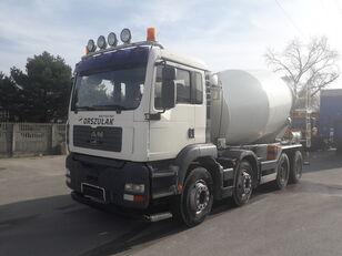 Liebherr  en el chasis MAN TGA-32.410 , 8X4 Liebher camión hormigonera