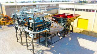 FABO TURBOMIX-120 MOBILE CONCRETE PLANT READY IN STOCK planta de hormigón nueva