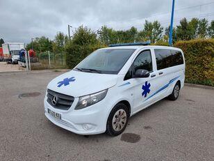 MERCEDES-BENZ VITO 163 CV - 2018 - 204 000 KM - AUTOMATIC ambulancia