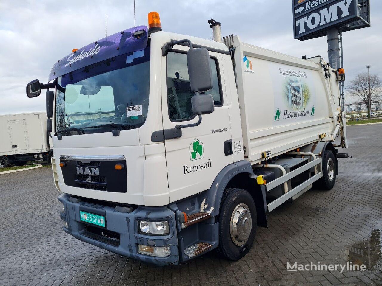 MAN TGM 15.250 61000km 10m3 EUbrief camión de basura